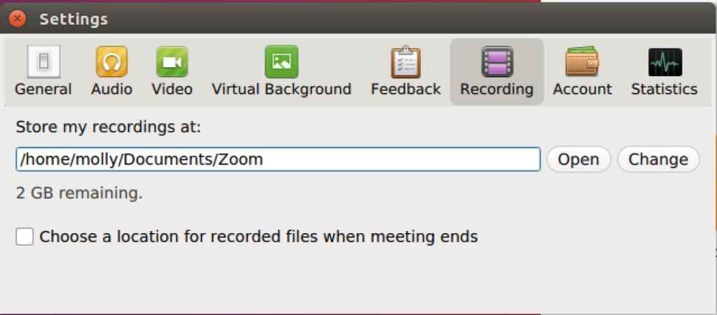 Dónde se guardan las grabaciones de Zoom