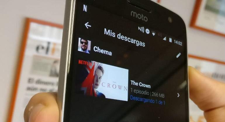 Dónde se guardan las descargas de Netflix en Android