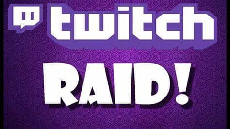Qué es una Raid en Twitch