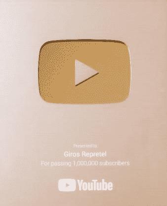 Cuándo te envía YouTube la placa