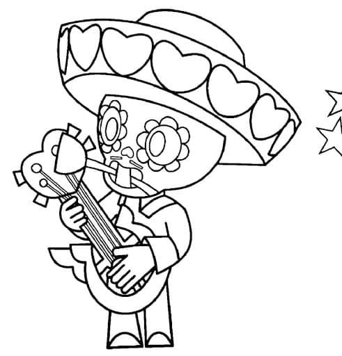 Dibujos para Colorear de Poco de Brawl Stars 2