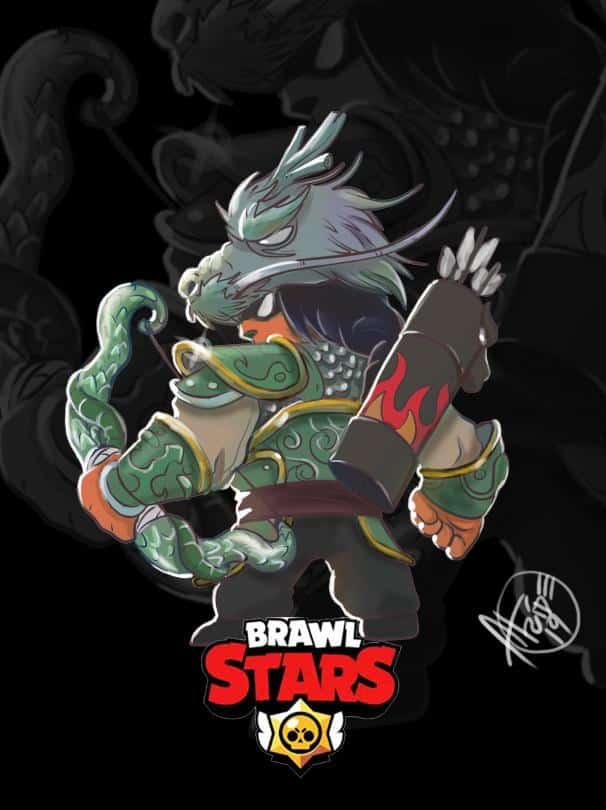 FanArts de Bo de Brawl Stars 3