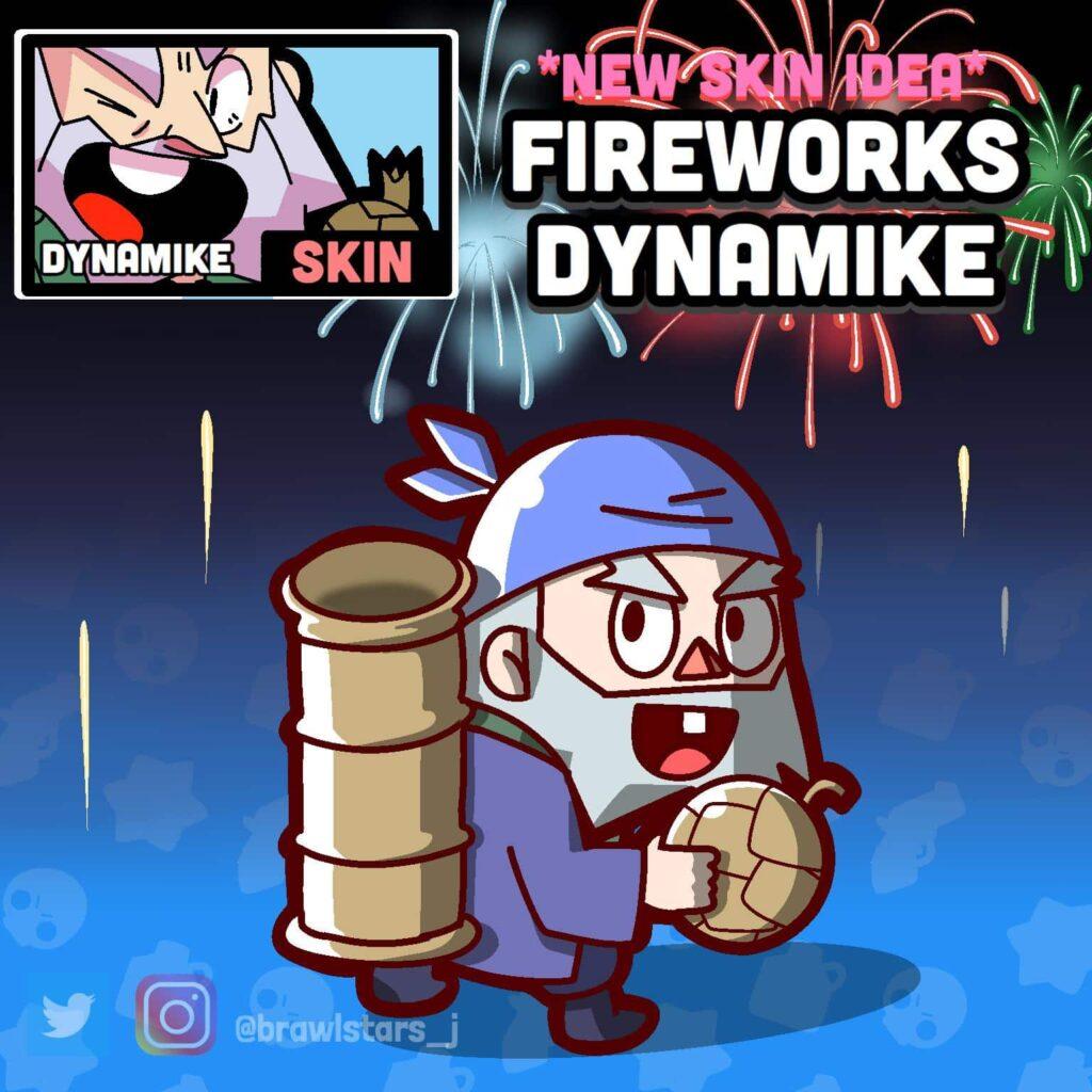 FanArts de Dynamike de Brawl Stars 3
