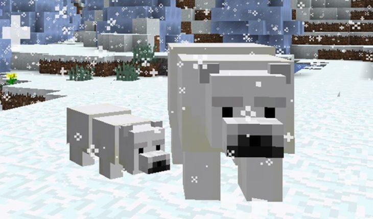 que comen los osos polares en minecraft