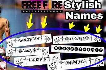 Nombres para Free Fire que nadie tenga.