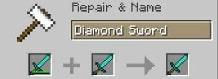 ¿Cómo arreglar herramientas en Minecraft?