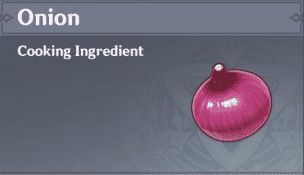 Cebolla en Genshin Impact