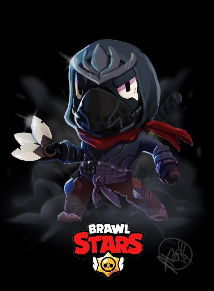 FanArts de Crow de Brawl Stars 3