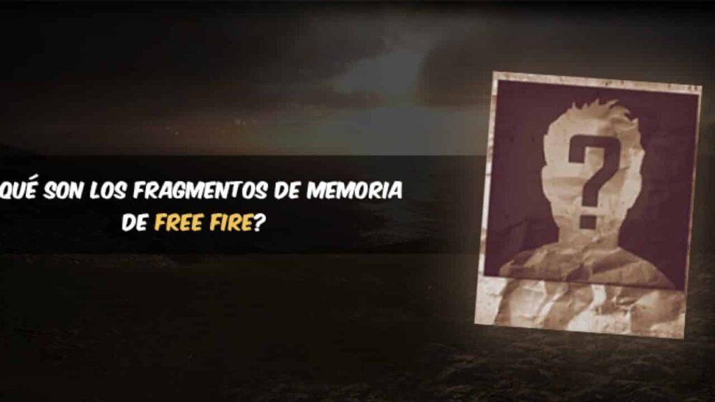 Fragmentos de memoria en Free Fire