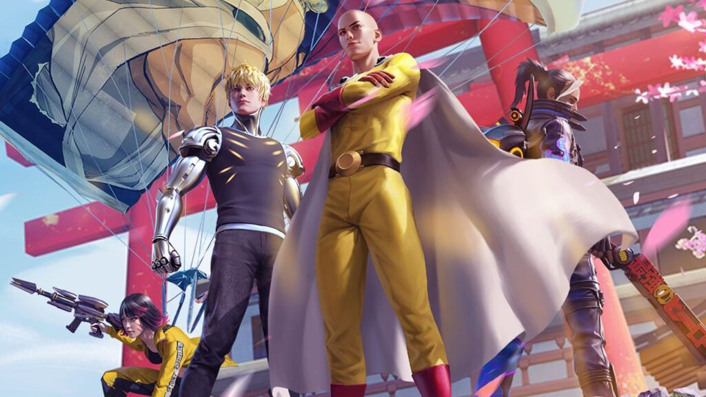 Free fire x one punch man
