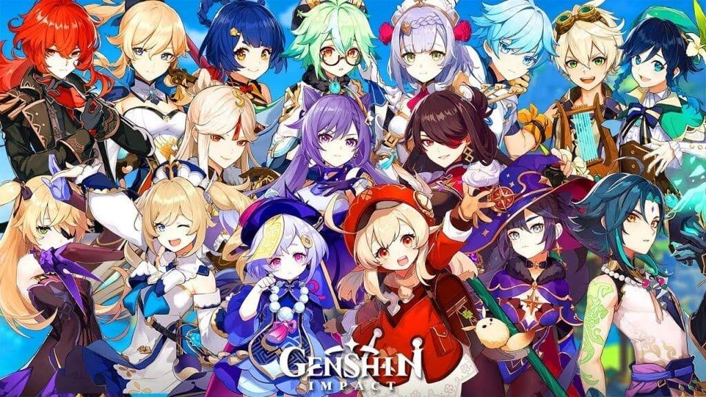 conseguir personajes en Genshin Impact