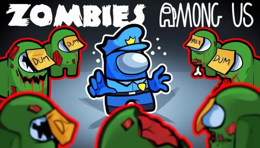 Among us zombie,