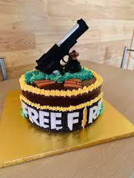 Pasteles de free fire para cumpleaños